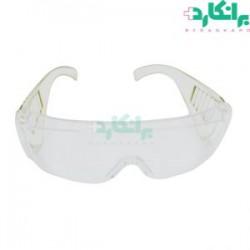 عینک محافظ با دسته کرکرهای