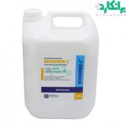 محلول ضدعفونی کننده بهسیمید ساولن حجم 4 لیتری