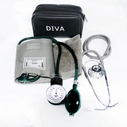 فشارسنج عقربهای چینی DIVA به همراه گوشی